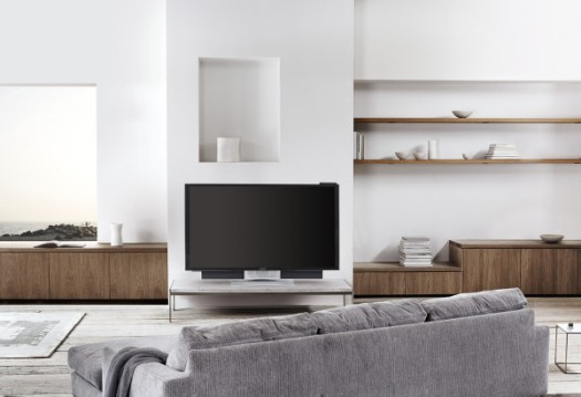 The B&O BeoVision Avant 4K TV Moves Where You Want It in technology Category