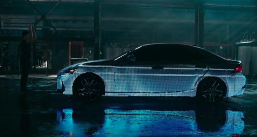 """The Lexus LIT also sports a """"gesture mode' that allows LED animations to be controlled using hand motions."""