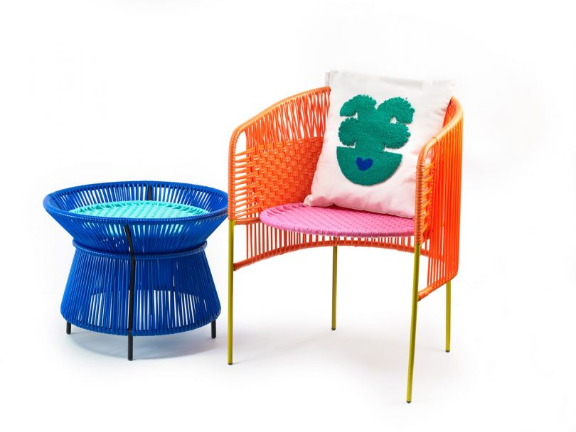 ames Launches CARIBE, a Colorful Outdoor Collection Made of Recycled Plastic