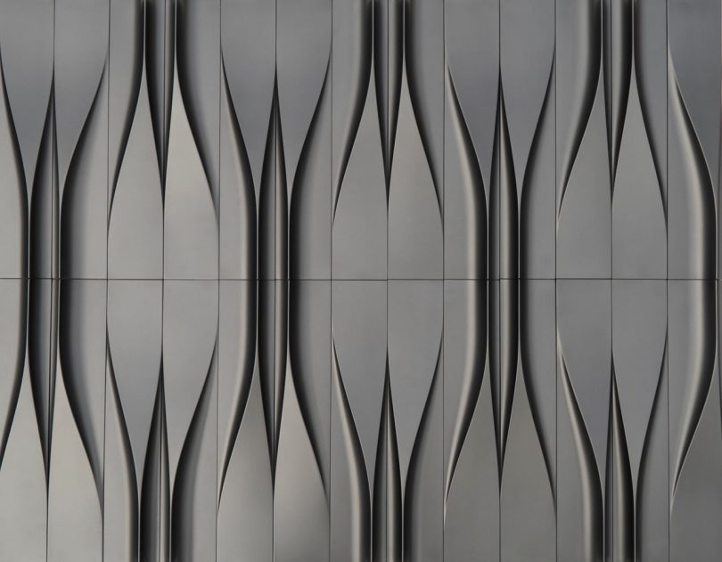 Concrete Tiles Inspired by its Original, Liquid Form