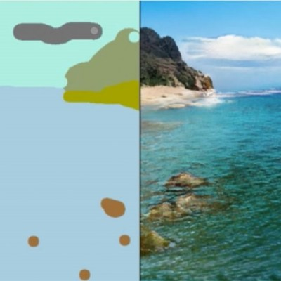 NVIDIA Canvas is an AI-powered tool that turns your sketches into photorealistic scenes