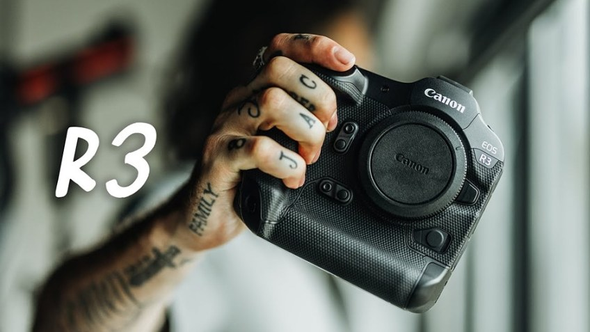 Peter McKinnon goes hands-on with a pair of Canon EOS R3 cameras
