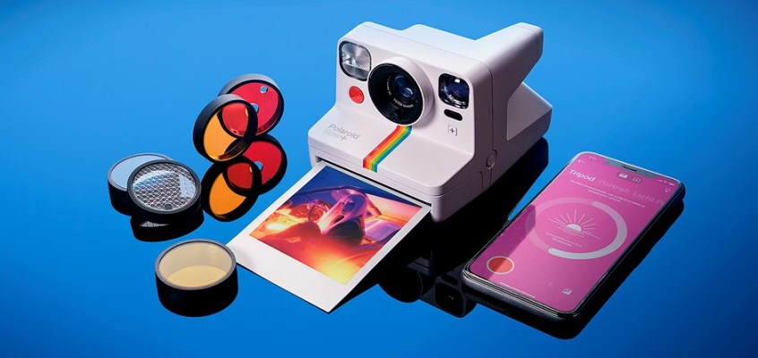 Polaroid's new Now+ instant camera uses your smartphone to unlock specialized capture modes