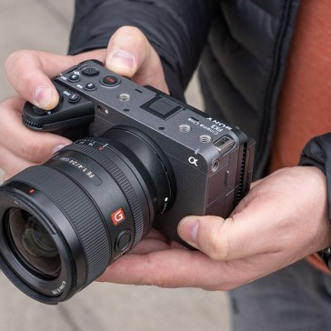 Hands-on with the Sony FX3 cinema camera