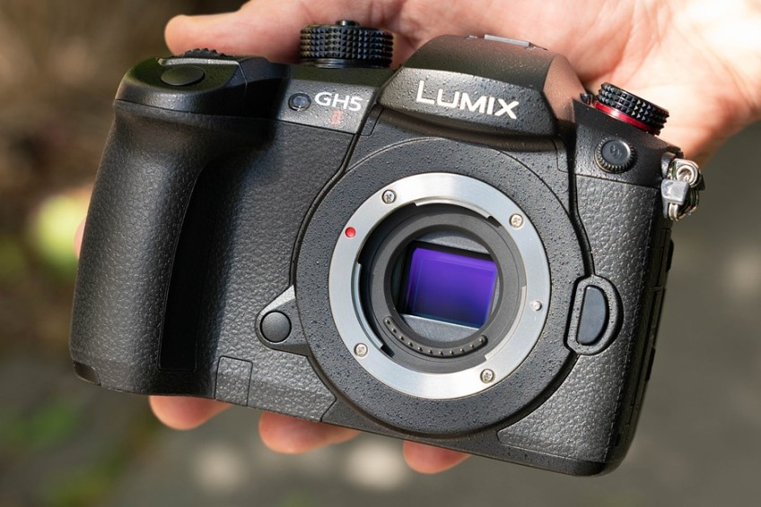 Hands-on with the Panasonic GH5 II