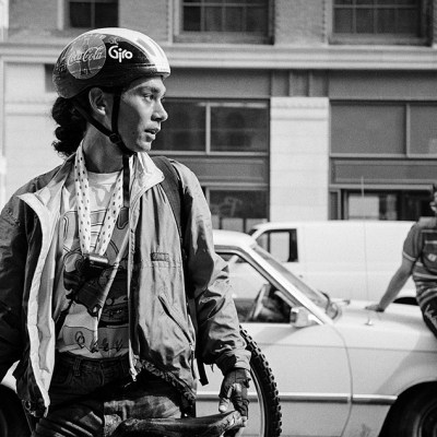 Film Friday: A look back at the 'golden age' of biker messengers – as shot on a Rollei 35SE
