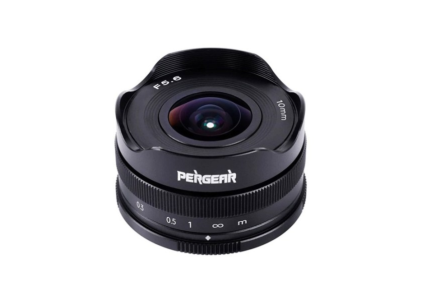 Pergear announces $89 10mm F5.6 fisheye lens for APS-C camera systems