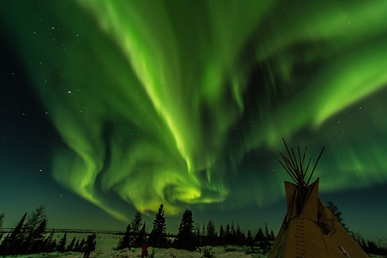 Best Canon Lens Shooting Northern Lights