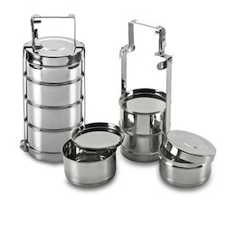 Image result for stainless steel tiffin box