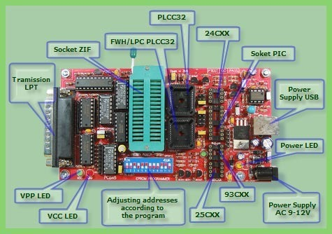 Eeprom Programmer Amp LED Television Motherboard Service Provider From Una