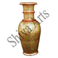 Golden Marble Pot