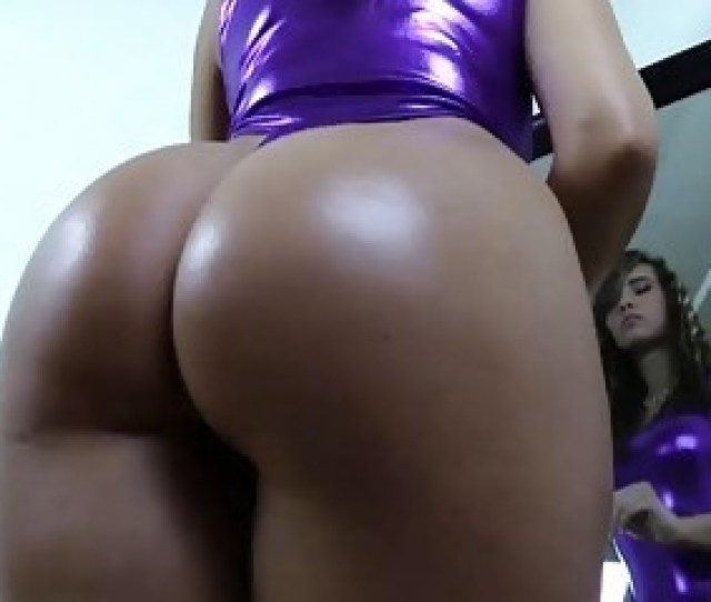 2357 Young Brunette Is Showing Off Her Beautiful Round Butt