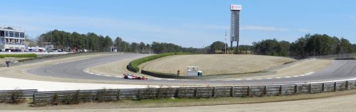 The biggest challenge of Turn 5 is that the braking zone leading up to the turn-in point is downhill