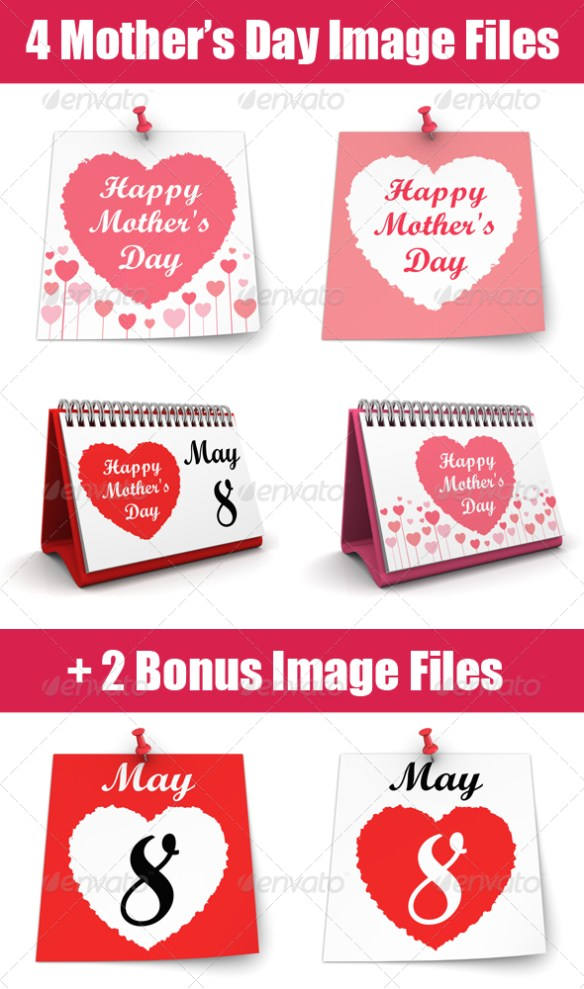 Happy Mother's Day - Miscellaneous 3D Renders