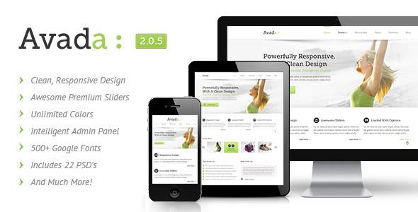 Avada   Responsive Multi-Purpose Theme - ThemeForest Item for Sale