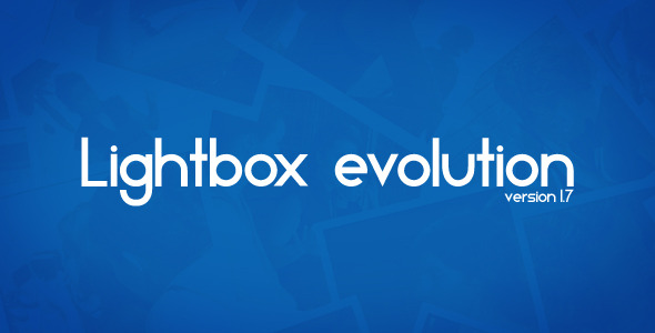 jQuery Lightbox Evolution - CodeCanyon Item for Sale
