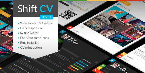 Shift CV par WPspace