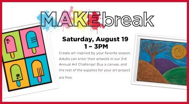 MAKE Break – Art for Everyone