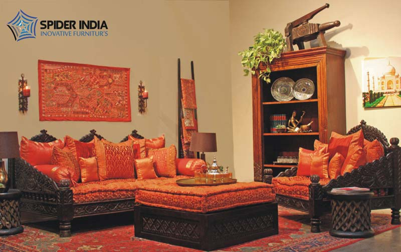 Antique Wooden Carved SofaCarved Indian Bench Manufacturers