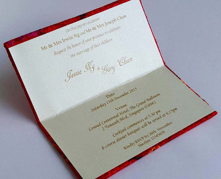 Wedding Invitation Card Printing Johor Bahru Popular Wedding – Invitation Card Printing