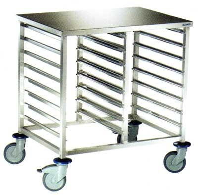 Tray Rack TrolleyPortable Tray Rack TrolleyKitchen Tray