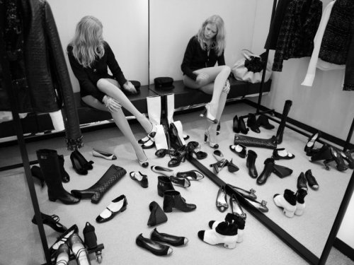 "still of lara stone in ""fitting room follies"", a short film by karl"