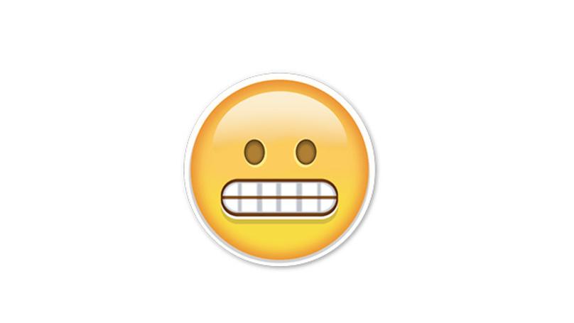 Image result for emoji big teeth