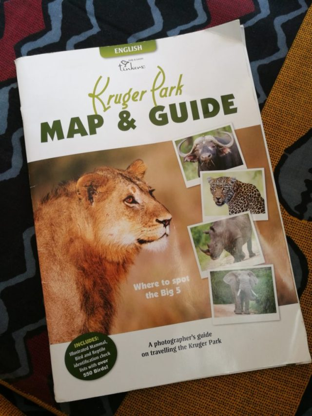 Le guide du Parc Kruger, un must have!