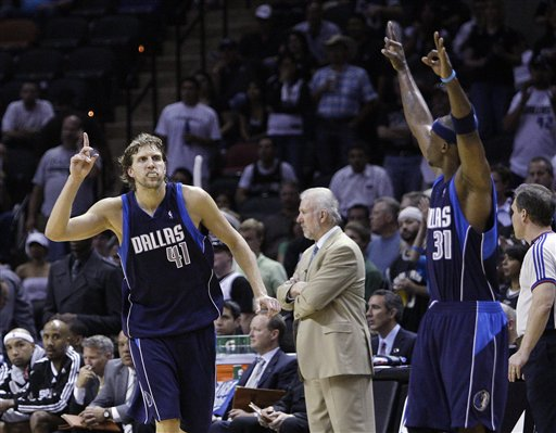 Mavericks Spurs Basketball