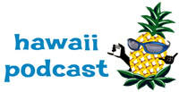 hawaii podcast logo