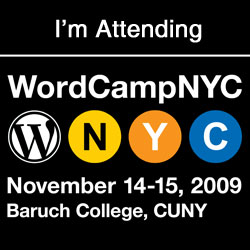 WordCamp NYC 2009