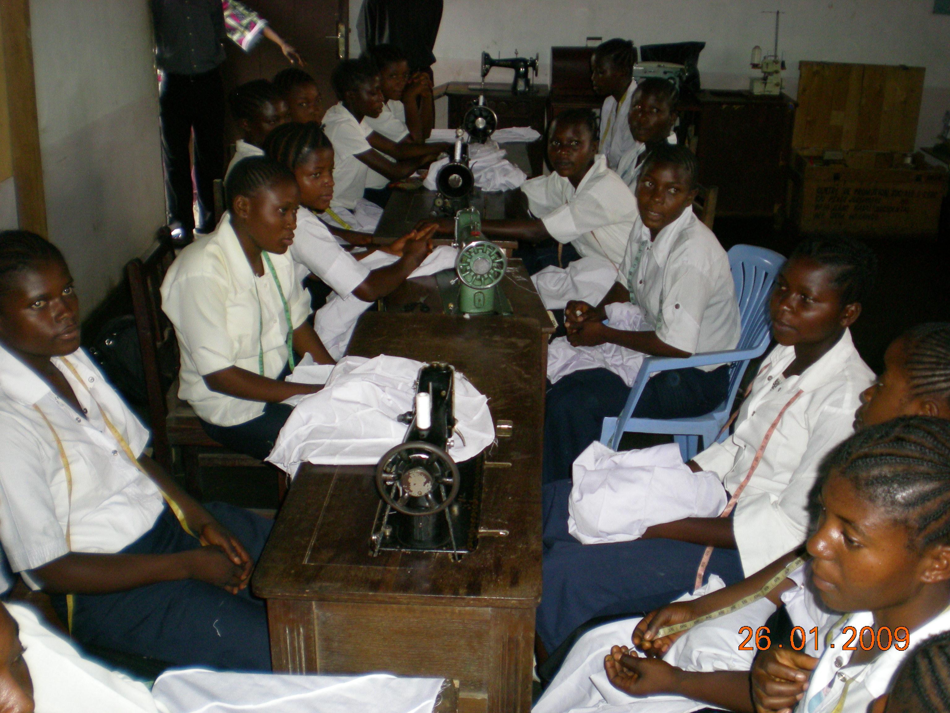 Congo-Ilebo Lycée St Marie 34