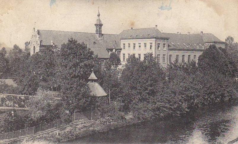 Karmelietenkerk+klooster1904