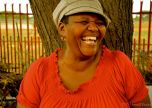 "Nkele Tau, a grade R (kindergarten) teacher at Tolmao Primary. Her name means ""Tears of the Lion."""