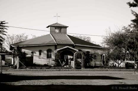 In my opinion, the Roman Catholic church in Letlhakaneng has the prettiest architecture.