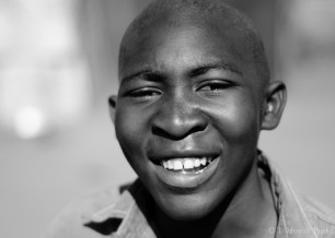 Kagiso, one of my grade 6 recruits to Scouting.