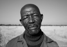 George immigrated Lesotho to herd cattle for the Kgokane and Mogoshoa families in Letlhkaneng. He earns about 60 USD a month.