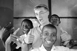 Goofing off with some grade 6 learners....