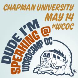 I'm speaking WordCamp Orange County 2011