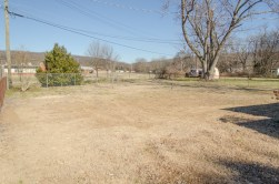 The rear yard is large and completely fenced.