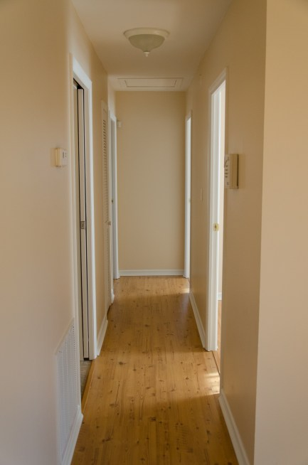 Lots of natural light with laminate floors throughout.