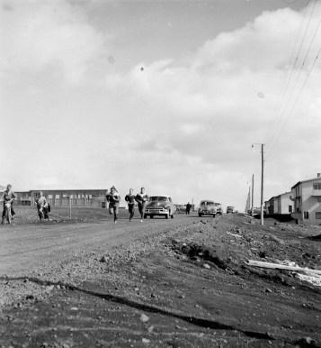 Víðavangshlaup í Kópavogi, líklega árið 1958