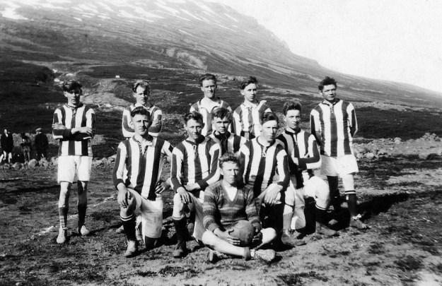 Knattspyrnulið Þróttar árið 1927