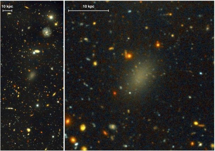Dragonfly44, una galaxia que no debería existir