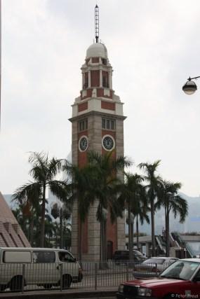 Der Uhrenturm am südlichen Ufer