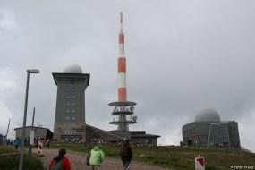 Auf dem Gipfel: Technik und Touristik