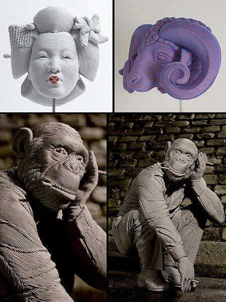 Brazilian sculptor Mozart Guerra - For The Home