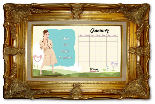 2016 January Love for Pin Up