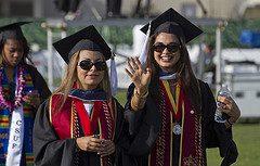 Master's Degree Grad