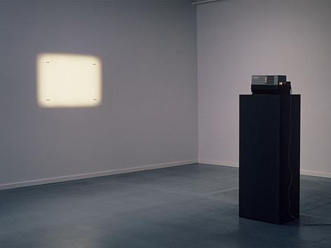 2004 l Dieter Kiessling l Projektion auf 4 Naegel l Foto Dieter Kiessling